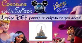 1 Château sous globe Disney offert