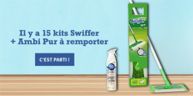 15 kits Swiffer + Ambi Pur offerts
