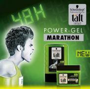 Gel Taft Marathon à moitié prix!