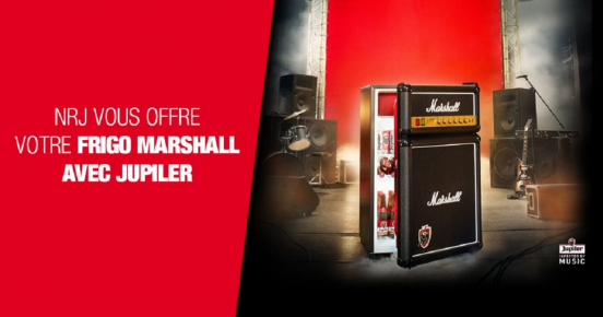 Gagnez un frigo Marshall avec Jupiler !