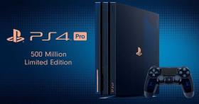 En jeu: une PS4 Pro Edition Collector «500 Million»