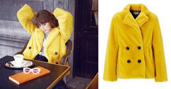 Offert : 1 manteau en fausse fourrure CKS
