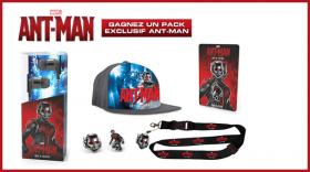 Des goodies et 2 places pour voir Ant-Man en salle !