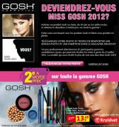 Kruidvat : Le 2ème produit de marque Gosh à moitié prix
