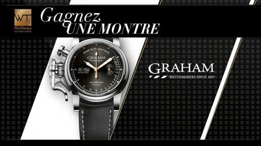 A remporter : 1 montre Graham Chronofighter Vintage de 3855€