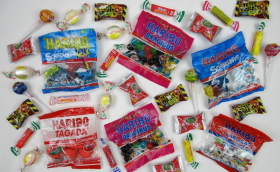 Gagnez 1 box bonbons Haribo, chupa chups…