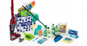 Remportez 184€ de produits ménagers !