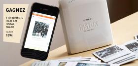 Une imprimante Fujifilm pour votre smartphone à gagner !