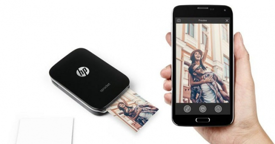 Tentez de remporter une imprimante mobile HP Sprocket Plus Black
