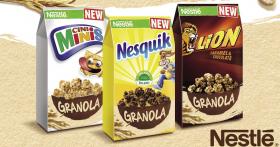 Remportez la nouvelle gamme de céréales Granola