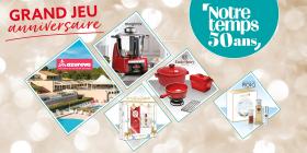 En jeu: séjours, robots cuiseurs, produits Emile Henry & plus