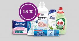15 kits Lenor, Always, Oral-B à GAGNER !
