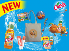 Gagnez 15 kits Oasis Pêche Abricot !