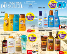 Kruidvat : promotions sur les produits solaires