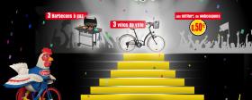 3 vélos «Btwin» et 3 barbecues à gaz «Campingaz» à gagner !