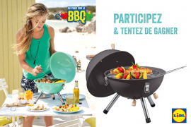 Gagnez un barbecue de table