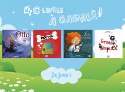 40 livres pour enfant à gagner avec Langue au chat !