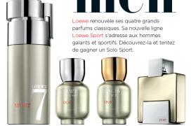 Un parfum Loewe Solo Sport de 75ml à gagner !