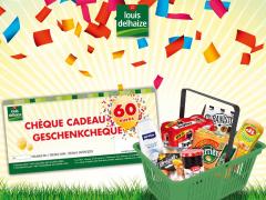 Gagnez un bon d'achat de 60 € chez Louis Delhaize !