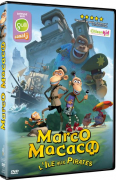 Gagnez 1 DVD du dessin animé « Marco Macaco – L'île aux pirates » !