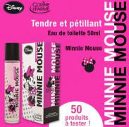 Beauté Test : test de l'eau de toilette Minnie Mouse