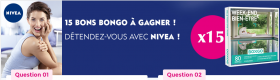 15 Bongo à gagner avec Nivea