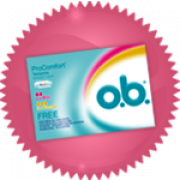 Essayez gratuitement les tampons O.B. !
