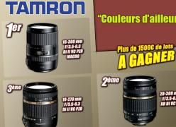 4 objectifs photo de la marque Tamron à gagner !