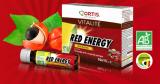500 échantillons gratuits du boost Red Energy d'Ortis