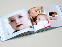 1 Livre Photo Luxe offert par Pampers !