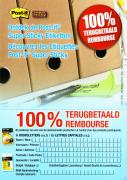 Etiquettes Post-it Super Sticky 100% remboursé