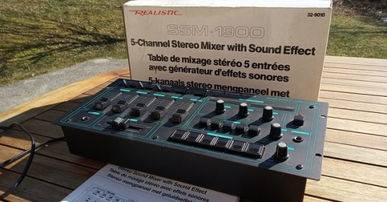 Table d'effets sonores à remporter
