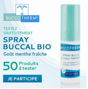 Spray buccal Buccotherm à tester gratuitement