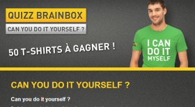 50 T-shirts « I can do it myself » à gagner !