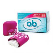 Échantillon gratuit des tampons O.B