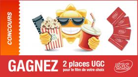 2 Tickets pour les cinémas UGC de Belgique à gagner !