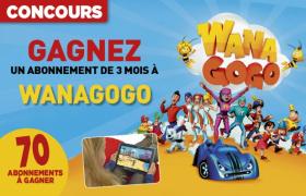 Remportez un abonnement de 3 mois à Wanagogo !