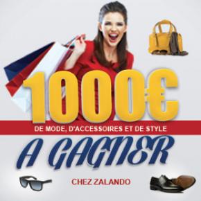 Gagnez 1000€ chez Zalando