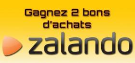 Gagnez des bons d'achats Zalando !